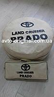 Чехол на запасное колесо на Toyota Land Cruiser Prado (Тойота Ленд Крузер Прадо) +сумка для инструментов.