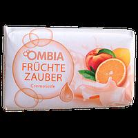 Мыло с содержанием крема и ароматом персика и апельсина Ombia Fruchte Zauber  150 гр