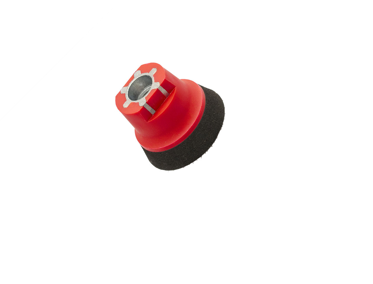 """36298 50 мм (2"""") М14 Оправлення м'яка для абразивів, червоно-чорна-Flexipads Soft Density Velcro"""