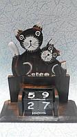 Вечный календарь Кошки размер 17*15*6
