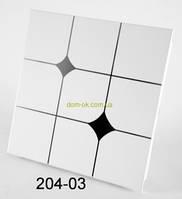 Плита из алюминия № 204-03 Алюминиевый потолок № 204-03