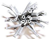 Шарики для моделирования GEMARсеребряный металлик, тонкие