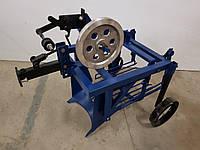 Картофелекопалка для мотоблока КМ-2(под ремень) вибрационная механизированная с активным ножом