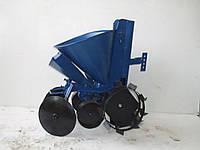 Картофелесажалка КСМ-2 (EXPERT) с бункером для удобрений и  посадкой чеснока