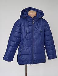 Куртка зимняя  для девочки осень синтепон