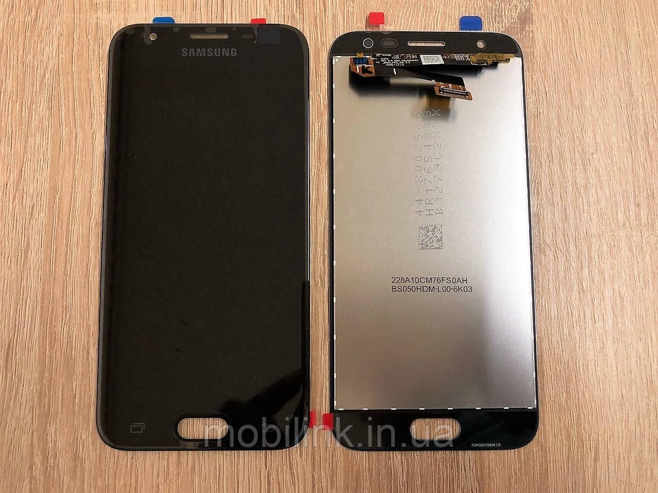 Дисплей на Samsung J330 Galaxy J3(2017) Чёрный(Black),GH96-10969A,оригинал!