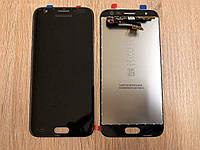 Дисплей Samsung J3 (2017) J330 Чёрный Black GH96-10969A оригинал!