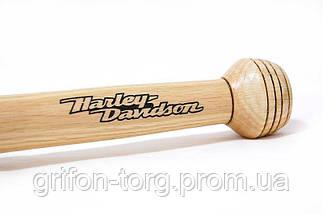 Деревянная бита с гравировкой, фото 2