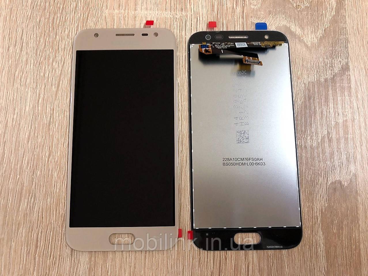 Дисплей на Samsung J330 Galaxy J3(2017) Золото(Gold),GH96-10990A,оригинал!
