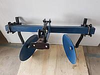Окучник дисковый AGROMARKA LUXE на двойной сцепке с усиленными стойками (ф дисков 420мм)