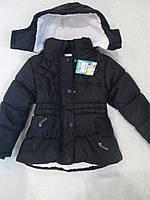 Зимняя куртка Англия на девочку 4 года, рост 104 см