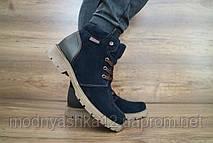 Зимние подростковые ботинки для мальчиков, замш, размеры 36,37,38,39,40,41