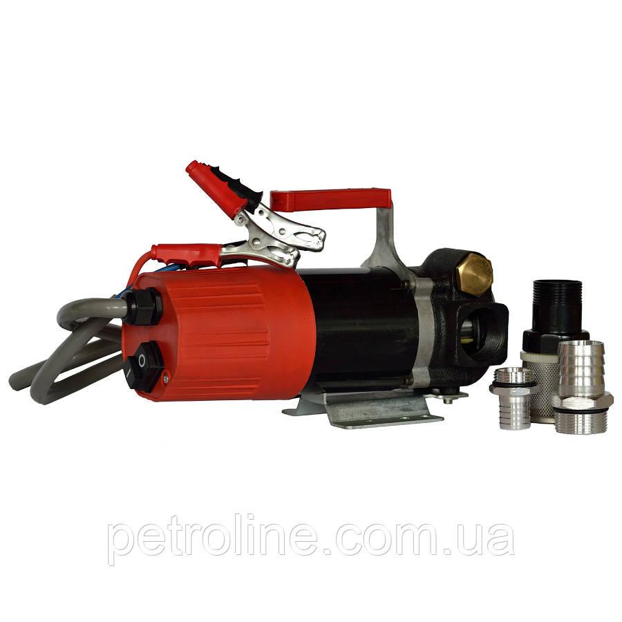 Насос для перекачки дизельного топлива БЕНЗА Н12-60, 12В, 60 л/мин