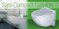 Насос-измельчитель, встроенный в унитаз SANICOMPACT ® Comfort