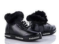 Ботинки женские димесезонные (36-41) Ailaifa-A1170404-1-black