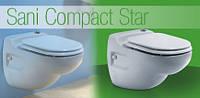 Насос-измельчитель, встроенный в унитаз SANICOMPACT ® Star