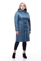 Пальто большого размера длинное демисезонное женское 48-60 коллекция 2018, фото 3