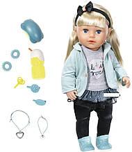 Кукла Zapf  Baby Born - сестренка модница  43 см, с аксессуарами