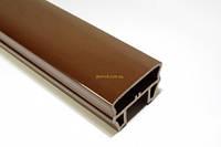 Декоративные ограждения из ДПК Classic Перило HOLZDORF 80х53 мм Глянец