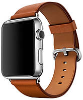 Умные часы Apple Watch 42mm Series 2 Stainless Steel Case with Saddle Brown Classic Buckle (MNPV2)
