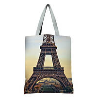 Большая сумка Оригинал с принтом Париж