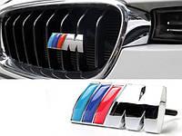 Эмблема шильдик значек тюнинг в решетку BMW M