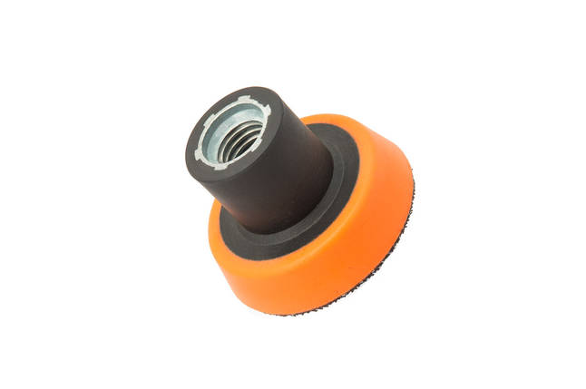 """Оправка для роторной машинки - Flexipads X-SLIM Rotary M14 50 мм. 2"""" черно-оранжевая (XB200), фото 2"""