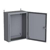 Корпус 500х400х200 металлический с монтажной панелью IP 54