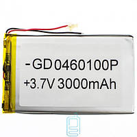Аккумулятор GD 0460100P 3000mAh Li-ion 3.7V