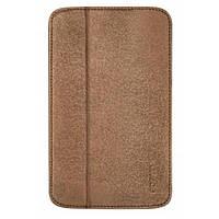 Чехол для планшета ODOYO Galaxy TabTAB3 7.0 /GLITZ COAT FOLIO SADDLE BROWN (PH621BR)