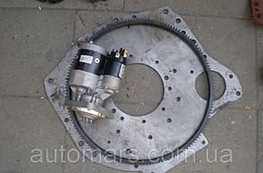 Комплект переоборудования трактора МТЗ под стартер (Стартер, плита, венец)