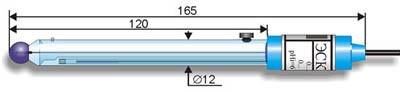 Комбинированный pH-электрод ЭСК-10601 лабораторный