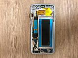 Дисплей Samsung S7 Edge SM-G935 Серый Silver GH97-18533B оригинал!, фото 2