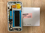 Дисплей Samsung S7 Edge SM-G935 Серый Silver GH97-18533B оригинал!, фото 3