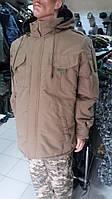 Куртка тактическая с капюшоном серии «Stratаgem М.821» (койот)
