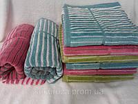 Кухонное махровое  полотенце Нежная полоска