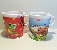 Чашка детская облегченная противоударная с 3d рисунком 200 мл Lindo K-541