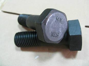 Болт с шестигранной головкой, особо прочный (HV), DIN 6914 М20,10.9 горячая оцинковка, фото 2