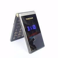 TKEXUN M2 Flip телефон раскладной на 2SIM двойной экран