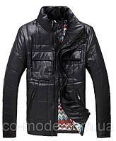 Стильная мужская куртка, черная