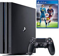 Стационарная игровая приставка Sony PlayStation 4 Pro (PS4 Pro) + Games FIFA 16 (PS4)