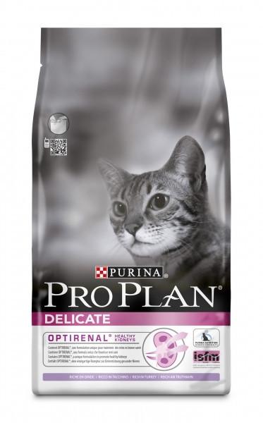 Корм для чувствительных кошек с индейкой Pro Plan Adult Delicate Turkey