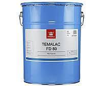 Краска по металлу Тиккурила Темалак ФД80 TCL, 18л