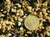 Aquarium Plus - грунт для аквариума базальт микс (черно-белый) 3-5 мм 1 кг