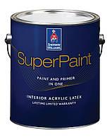 Краска SW Superpaint Interior Latex для интерьера (3.48 л) Полуматовая Темная база