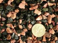 Aquarium Plus - грунт для аквариума микс красно-черный 5-10 мм 1 кг