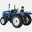 Трактор DW 244 AХ  (3 цил., ГУР., (КПП 4+1)х2, пер./зад. груз, комф. сиденье, эл. панель), фото 2