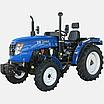 Трактор DW 244 AХ  (3 цил., ГУР., (КПП 4+1)х2, пер./зад. груз, комф. сиденье, эл. панель), фото 3