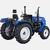 Трактор DW 244 AХ  (3 цил., ГУР., (КПП 4+1)х2, пер./зад. груз, комф. сиденье, эл. панель), фото 4