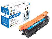 Картридж G&G для HP Color LJ CM3530fs/Canon LBP-7780-G&G-732 Cyan (3000 стр)